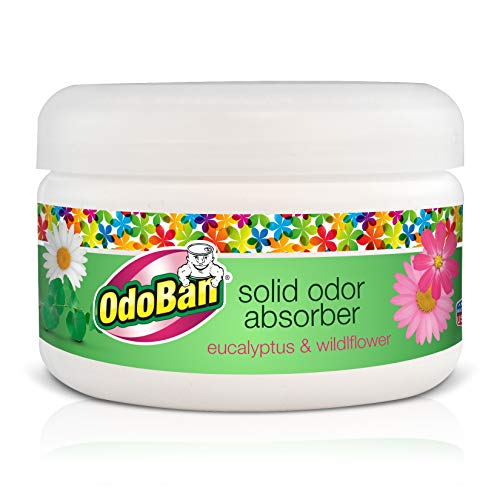OdoBan Disinfectant Odor Eliminator and All Purpose Cleaner, 32 oz Spray and 1/2 Gallon Concentrate, Original Eucalyptus, Plus Solid Odor Absorber by OdoBan (Image #3)