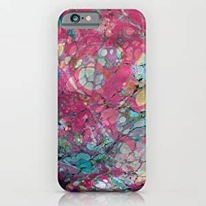 Society6 - Abstract Painting ; Plumeria iPhone 6 Case by Bialy Kot