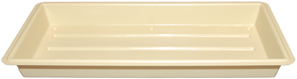 Growers Supply Company GT2211-4 4-Pack 22-by-11-by-2-1 2-Inch Perma-Nest Plant Trays, Tan