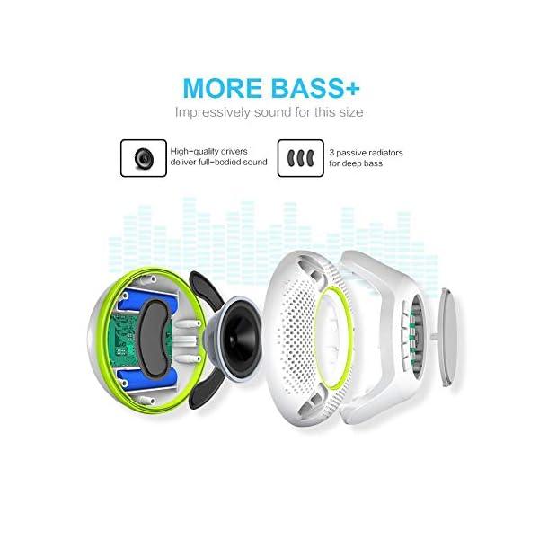 Floating Waterproof Bluetooth Speaker More Bass