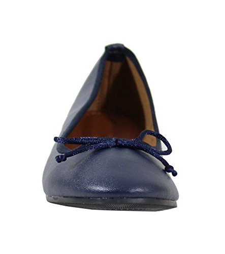Blue Dark Ballerine By Shoes Donna CWq1a