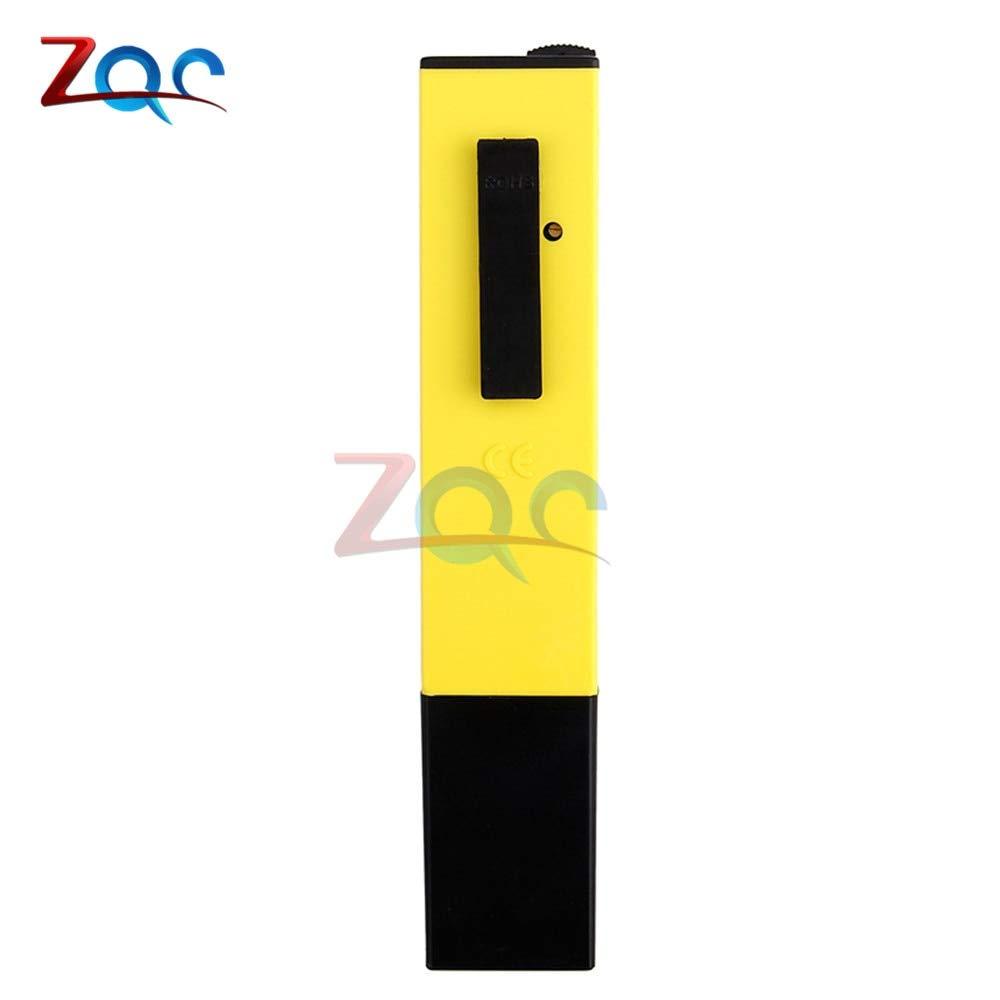 Digital pH Meter Ph Pen Tester Acidity Water PH Meter Professional for Home School Laboratory Aquaculture Aquarium Swimming Pool