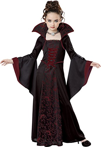 California Costumes Royal Vampire Costume, Small, Black/Red