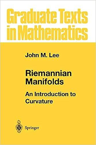 Riemannian Manifolds: An Introduction to Curvature (Graduate
