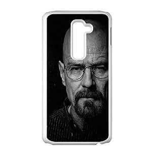 LG G2 Cell Phone Case White he14 breaking bad face film art dark LSO7718336
