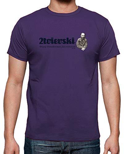 T Uomo shirt 2toievski Tostadora Viola Hfzq6Xwx