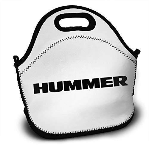 NEST-Homer Hummer H2 Car Lunch Bag Lunch Box Thermal Insulated Lunch Pouch Picnic Bag School Cross Body Backpack
