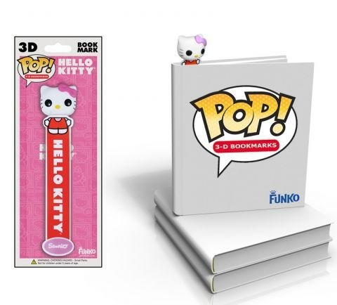 Hello Kitty Pop Vinyl 3D Bookmark (Hello Kitty Pop)