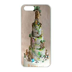 Iphone 5 Case,Hard PC Iphone 5 Protective Case for Ultimate Protect iphone 5 5s with birthday cake by Maris's Diaryby Maris's Diary