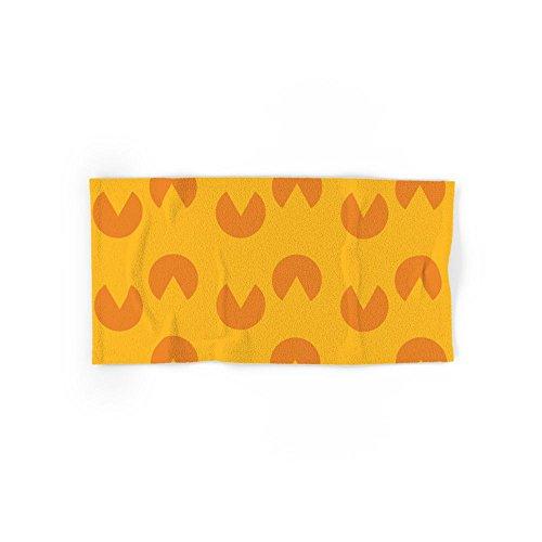 Society6 Pac Man Pattern Set of 4 (2 hand towels, 2 bath towels)