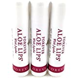 Forever Living 3 X Aloe Lips Balm - Soothe,Moisturize,Heal & Protect Lips