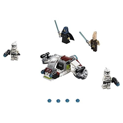LEGO Star Wars Jedi & Clone Troopers Battle Pack 75206 Building Kit (102 Piece)