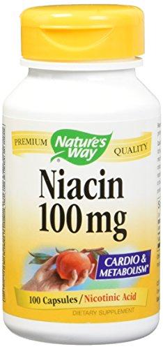 Niacin 100mg 100 Capsules (Pack of 2)