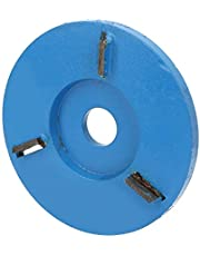 Tea Tray Digging Disc, Wood Tray Milling Cutter Sturdy and Durable with Hard Tungsten Steel for Woodworking(Flat)