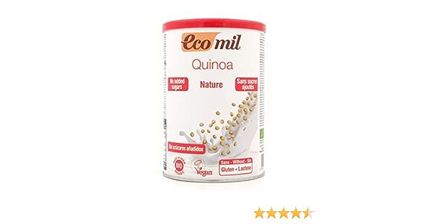 EcoMil - Leche de Quinoa en polvo EcoMil, 400g: Amazon.es ...