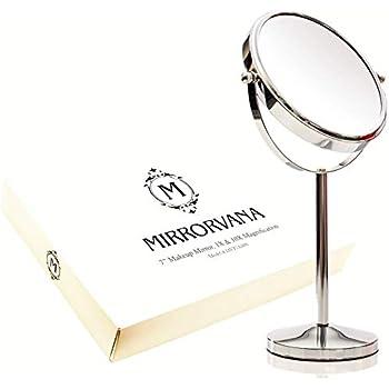 Amazon Com Gooseneck Vanity 7x Mirror With Clear Acrylic