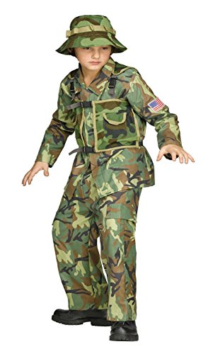 Boys Special Forces Costume 8-10