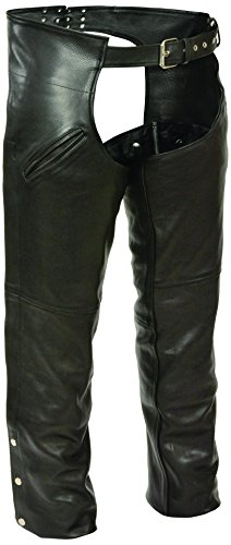 Milwaukee Men's Slash Pocket Chaps with Thermal Liner (Black, Large) by Milwaukee