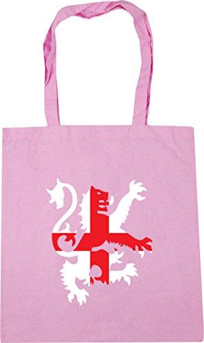 10 X38cm Fútbol De Bandera De De Rosa De Inglaterra Asas Bolsa De Hippowarehouse Clásica Litros Compras Gimnasio Playa León 42cm ZxawF