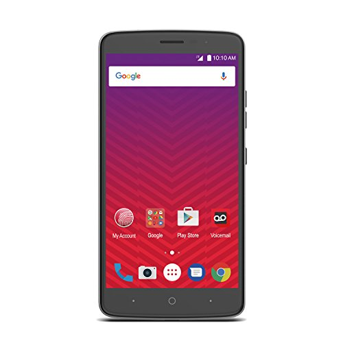 Zte Max Xl 16Gb   Prepaid   Carrier Locked  Virgin Mobile