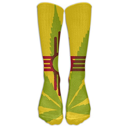 HFXFM's New Mexico Weed Sports Athletic Running Long Socks Novelty Calf High Sock Unisex