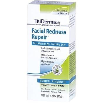 TriDERMA® Facial Redness Repair, 2 pack