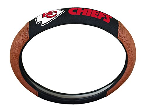 NFL Kansas City Chiefs Steering Wheel Cover (Best Outlet Mall In Kansas City)