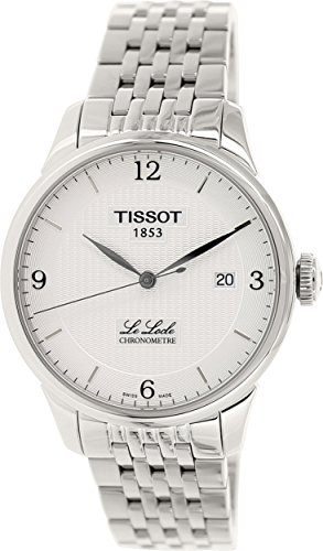 Tissot Men's T0064081103700 Le Locle Analog Display Swiss Automatic Silver Watch - Chronometer Silver Watch