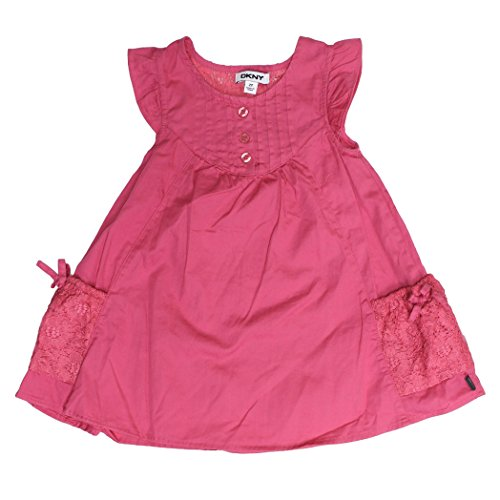 dknyr-girls-dress-fuchsia-with-lace-detail-size-8