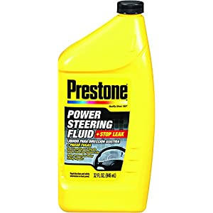 Prestone AS263-6PK Power Steering Fluid with Stop Leak - 32 oz., (Pack of 6)