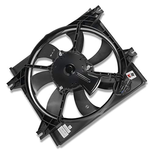 HY3113104 OE Style AC Condenser Cooling Fan Shroud Assembly for Accent 01-05