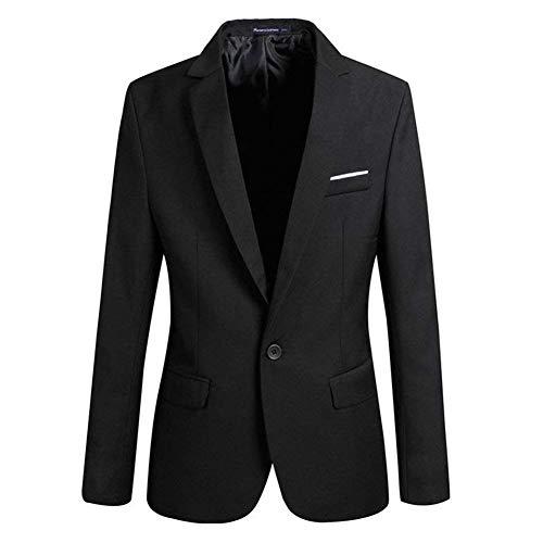 Ad Fit Bottone Giacche Smoking Party Festa Sposa Abito Da Vestito Moderna Slim Haidean Abbinate Schwarz Cappotto Prom Un Casual Blazer Elegante Uomo SwICxqW4B