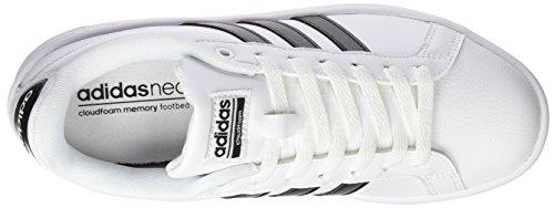 adidas Cf Advantage W, Zapatillas para Mujer Blanco/Negro