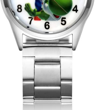 Supermario Cartoon Watches Cute Cartoon Pretty Mario Style Montres pour Enfants Filles Étudiantes Garçons Quartz Metal Steel Wrist Watch