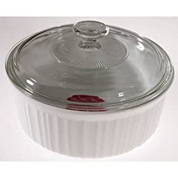 Round Covered Casserole Dish