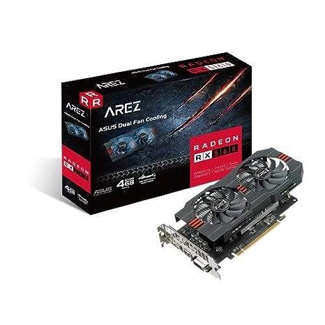 ASUS AREZ Tarjeta gráfica 128 bit RX560-4G-EVO Radeon 4 GB GDDR5, 5120 x 2880 Pixeles, PCI Express x16