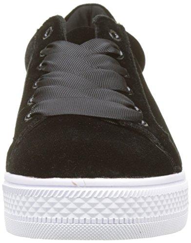 Velours Bracken Molly Femme Baskets Noir Sneakers 07WwxqfP