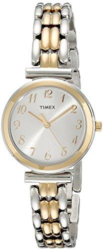 Timex Women's T2P2019J Elevated Classics Dress Two-Tone Bracelet Watch