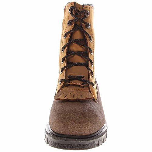 Timber Pro Mens 8 Rigmaster Stål Sikkerhet Tå Vanntett Glidelås Side-sko, Størrelse: 8 D (m) Oss, Fargen Mørkebrun