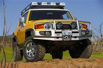 - ARB 3420210 Front Deluxe Bull Bar Winch Mount Bumper