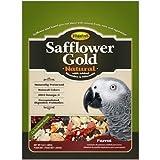 Higgins Safflower Gold Natural Food Mix for Parrots 3lbs by Higgins