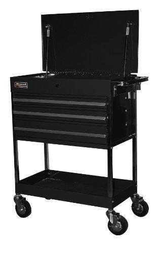 Homak   BK05500200 34-Inch Professional 3 Drawer Service Cart, Black by Homak Mfg. Co., Inc.