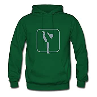 Lynsnyd X-large Styling Green Hoody - Figure_skating_mono Painting,women