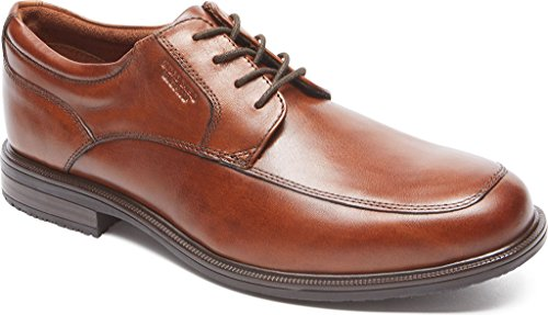 Rockport Men's Essential Details II Apron Toe Oxford,Tan Antique Leather,US 12 W
