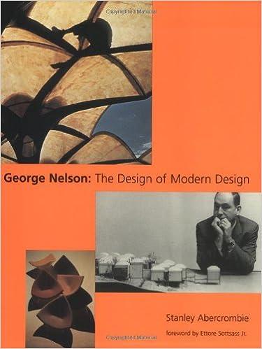 George Nelson: The Design of Modern Design: Stanley Abercrombie, Ettore  Sottsass Jr.: 9780262511162: Amazon.com: Books