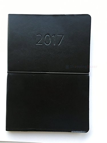 2017-one-week-to-view-diary-a5-flexible-cover-leather-effect-x-single-black