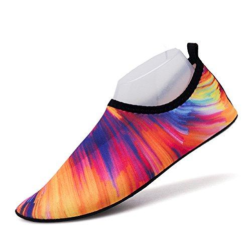 nubes y SK12 de natación rápido la playa descalzos piel amantes natación pegada pies Zapatos secado luz rosy de calzado zapatos zapatos Lucdespo xpZHS1w