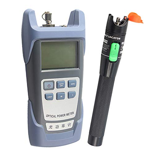 Baosity AUA-9 Fiber Optic Cable Tester Optical Power Meter with Sc & Fc Connector Fiber Tester + 30mW Visual Fault Locator Equipment for CATV Test,CCTV TES by Baosity (Image #10)