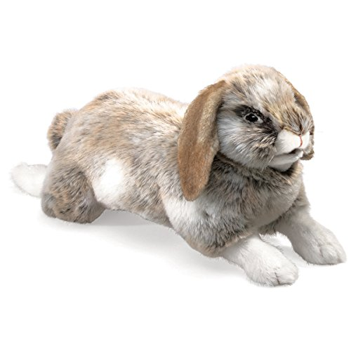 Folkmanis Holland Lop Rabbit Hand Puppet (Rabbit Puppet Stage)