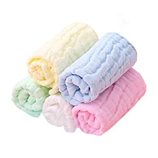 Baby Washcloths Organic Baby Face Towels Soft Cotton Baby Wipes